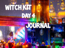Witch Kit Day 4 Journal