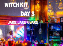 Witch Kit Day 3 Jars